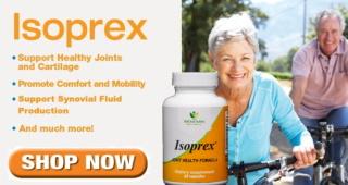 [Banner: Isoprex]