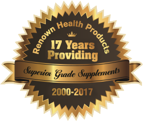 [Renown Health Products: 17 Years]